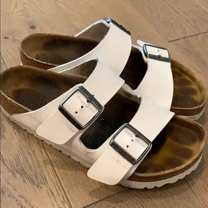 Birkenstocks White Arizona